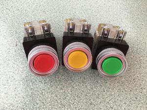 Nút nhấn không đèn màu đỏ CR-301-1R