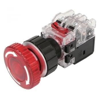 công tắc khẩn có đèn màu đỏ MRA-AR1A3R